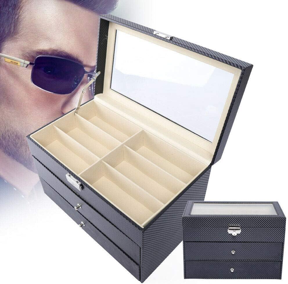 3 layer 18 Slots Eyeglass Sale price Sunglass Orga Storage Multi Watch Ranking TOP17 Box