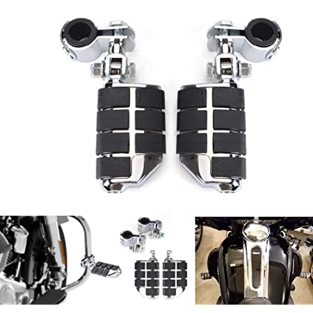 Goldfire 1 1//4 32mm Highway Engine Guard Foot Peg Universal Suit For Harley//Honda//Yamaha//Kawasaki//BSA A