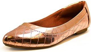 Sapatilha Matelasse Luiza Sobreira Verniz Bronze Mod. 2201-2