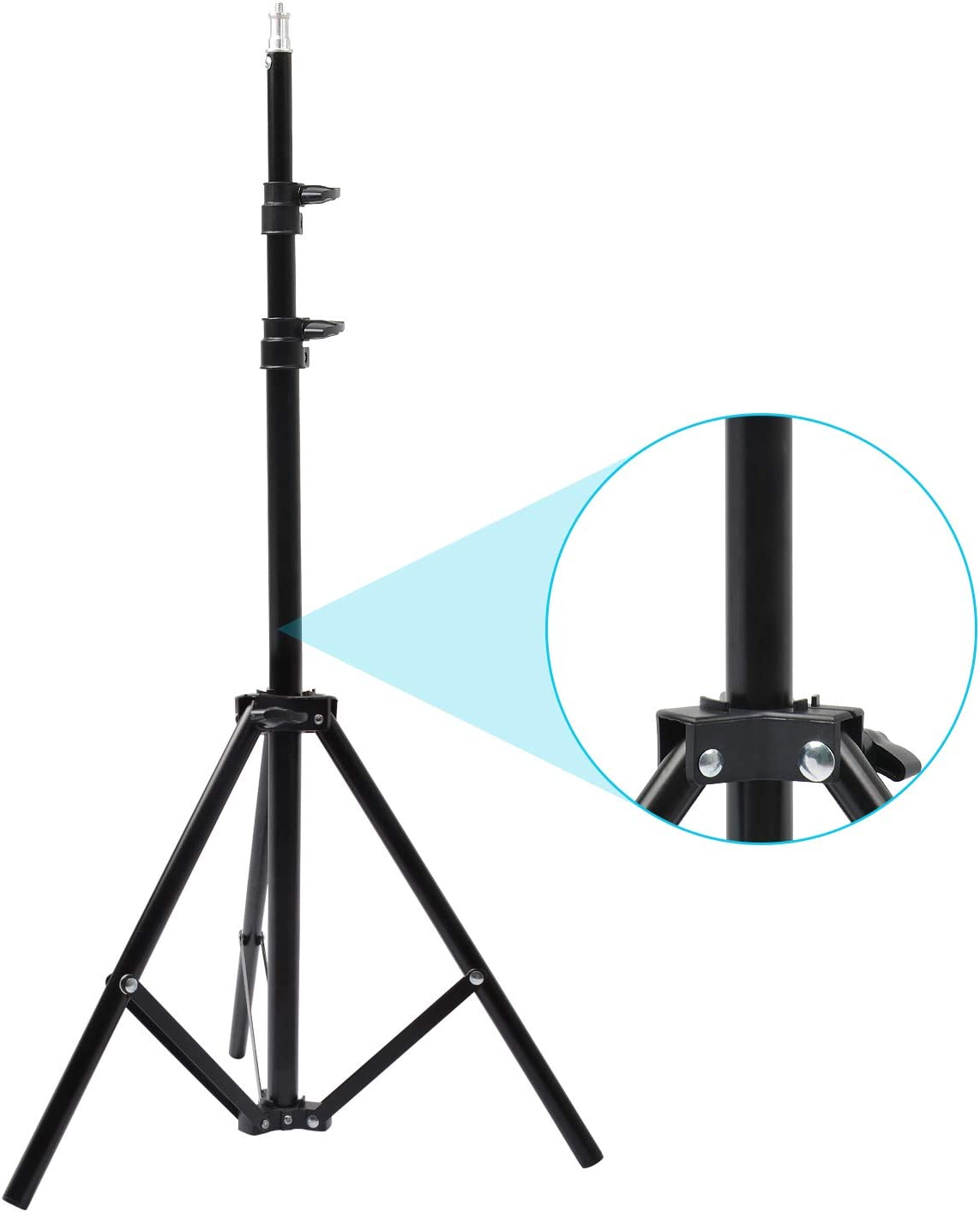 Product Riqiorod 5.5-Foot Light Stand Tripod Aluminum Max 88% OFF Photography