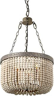 Best wood square chandelier Reviews