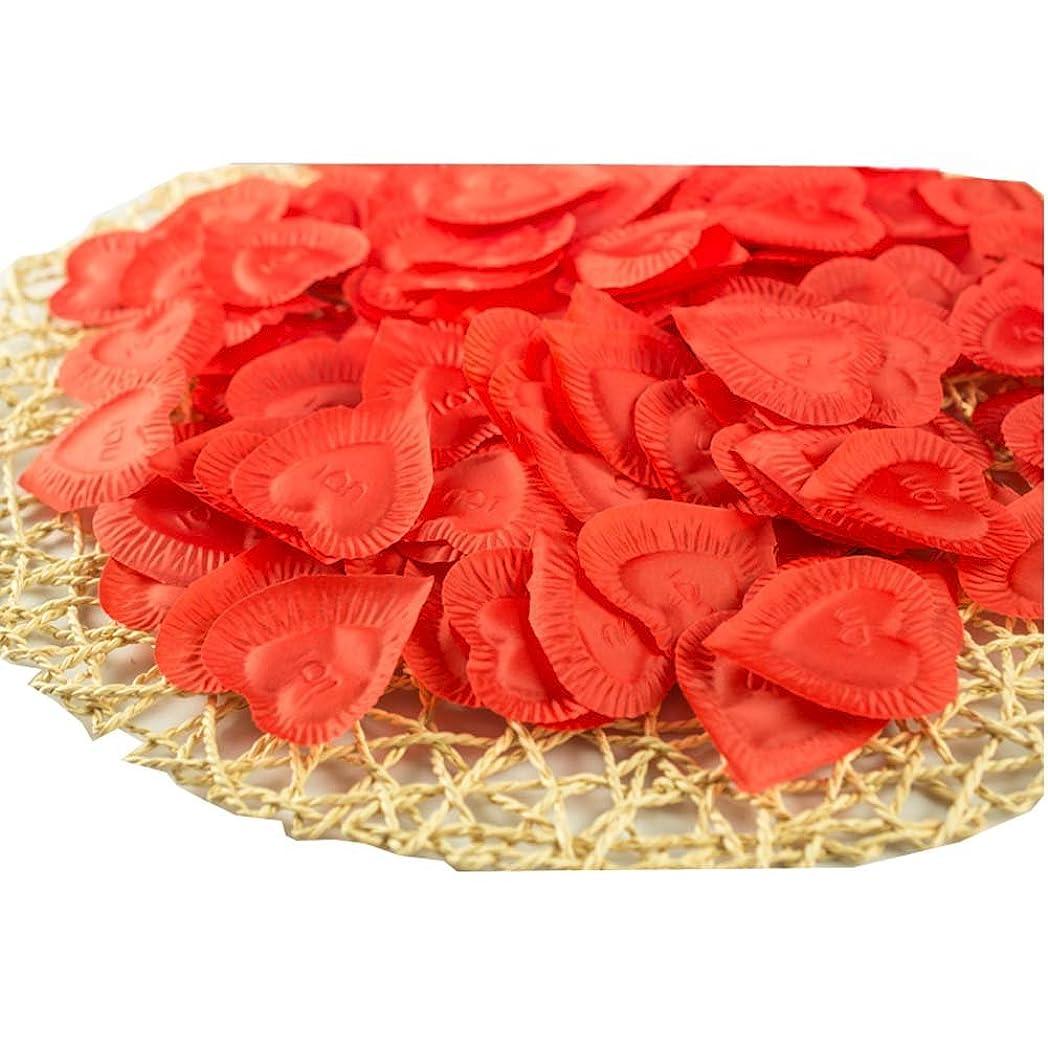 過敏な始める真向こう人工花の花びらバレンタイン結婚パーティーデコレーション840個