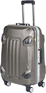 Hard Travel Suitcase Rolling Luggage Trolley Case Travel Bag On Wheel,Gray,28