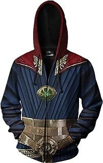 Avengers Endgame Hoodie Jacket Zipper Unisex Superhero Cosplay Costume 3D Pullover Commemorate Sweatshirt