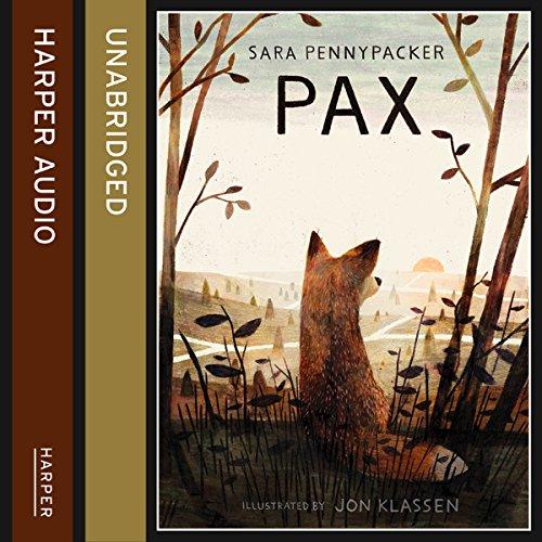 Pax audiobook cover art