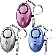 Persoonlijke Veiligheid Alarm Herbruikbare Kleine Sleutelhanger 140DB met LED Licht Emergency Zelfverdediging Alarm Super ...