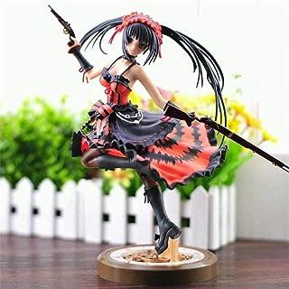 LF-YGJ Estatua de Anime Tokisaki Kurrumi Pesadilla con Pistola Brócoli 5 Generaciones Figura de acción de Anime Juguete Fi...