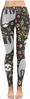 InterestPrint Custom Quatrefoil Pattern Stretchy Capri Leggings Skinny Pants for Yoga Running Pilates Gym(2XS-5XL)