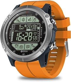 Relojes Inteligentes Tarjeta Enchufable, Mujer Hombre Smartwatch Pulsera Inteligente con Pulsómetro Podómetro Pulsera Actividad Inteligente con Monitor de Sueño,C
