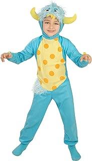 Guirca - Disfraz de monstruito, para niños de 5-6 años, color azul (82512)