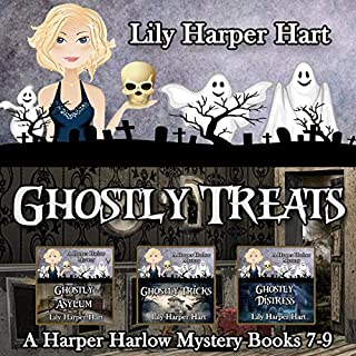 Ghostly Treats audiobook cover art