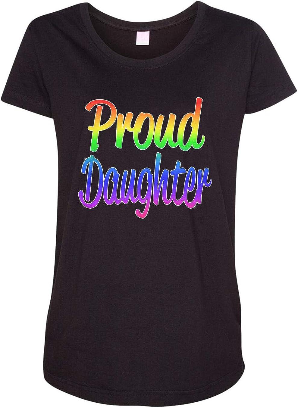 HARD EDGE DESIGN Women's Proud Long-awaited Daughter free shipping T-Shirt