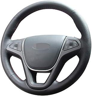 CYBHR Car decoration Auto Accessories handmade Automotive interior Car Steering Wheel Covers,for Chery Tiggo 5 2013-2016