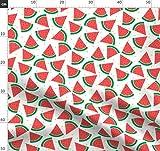Wassermelone, Albern, Konfetti, Obst Stoffe - Individuell