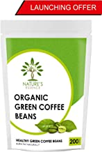 Nature's Essence by KBX Organic Arabica Green Coffee Beans for Weight Loss, 200 g