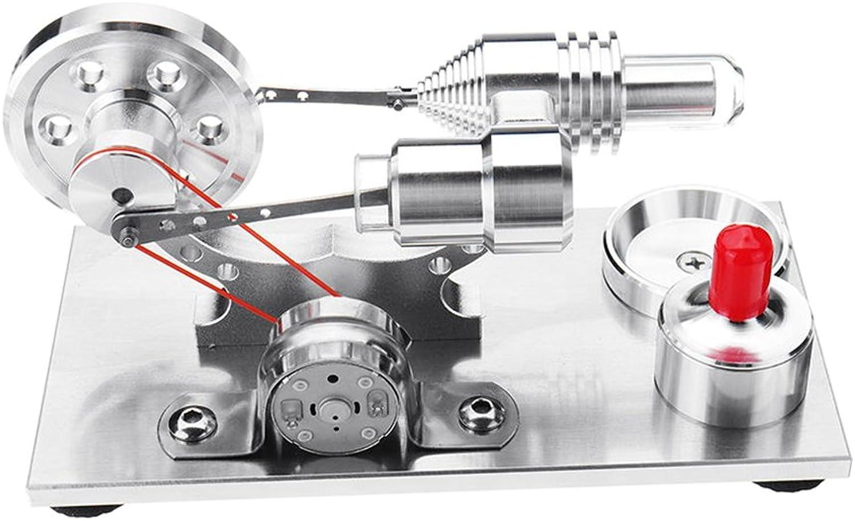 liquidación hasta el 70% Baoblaze Baoblaze Baoblaze Potente Generador De Motor De Movimiento De Stirling Engine Kits De Aire Caliente del Motor para El Dispositivo De Trabajo Mecánico  salida para la venta