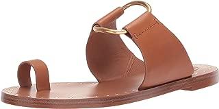 Tory Burch Women's Ravello Tan Leather Studded Sandal Thong