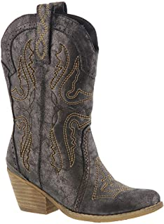 Volatile Barkley Girls Toddler-Youth Boot 1 M US Little Kid Taupe