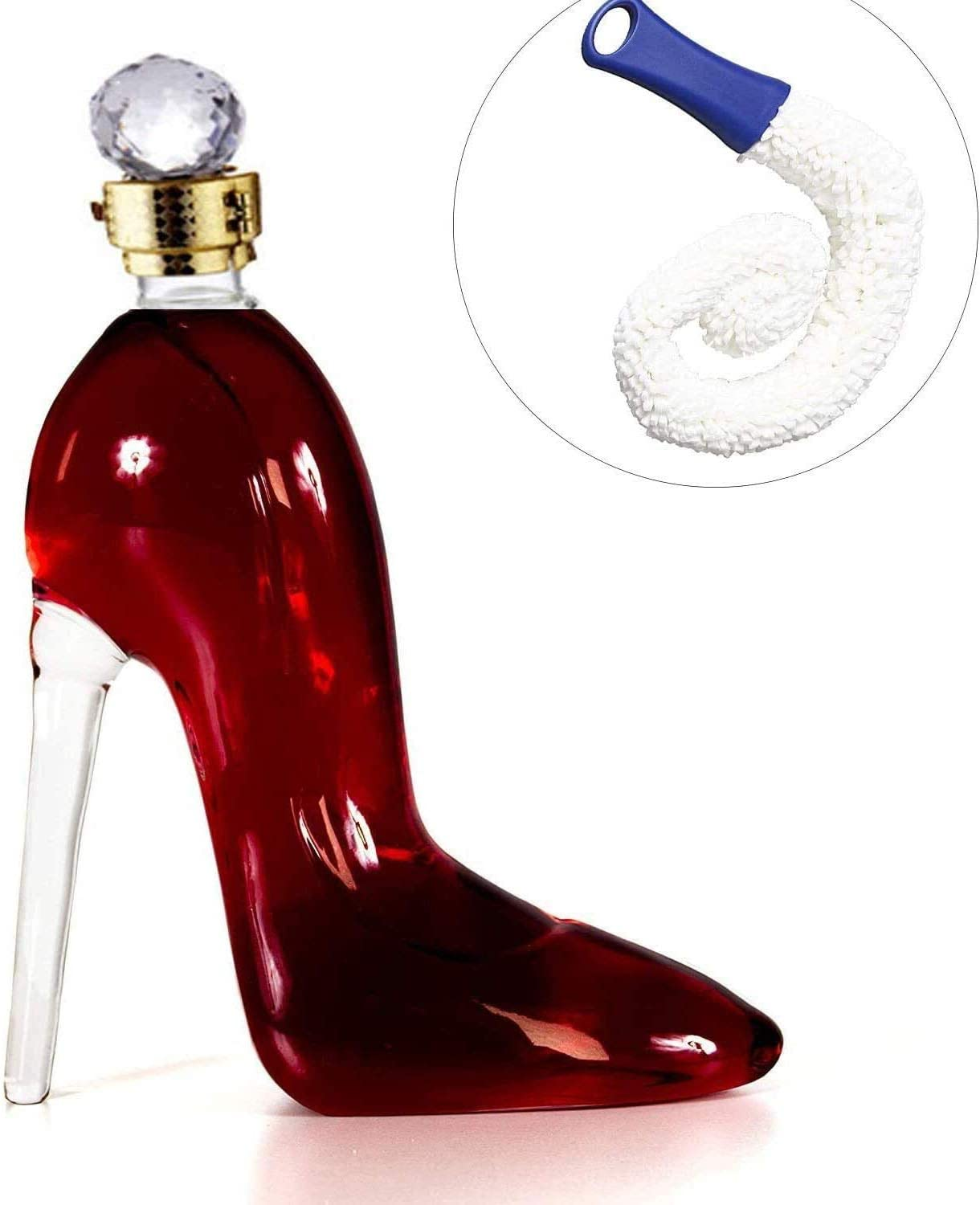 DONGSHUAI 750ML Exquisite Decanter with Diamond Stop an Ranking integrated 1st place Finally resale start Airtight