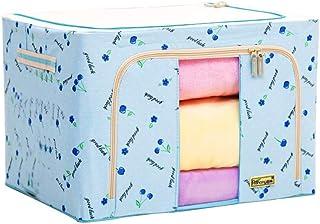 Boîte De Rangement Pliante En Tissu Oxford Grande Boîte De Finition Pour Couette 66L Panier De Rangement Pour Vêtements Av...