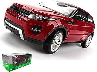 Simulation Alloy Car Model Toy Ornaments Die Casting Car Model Static Proportional Car Model Gift Land Rover Evoque Pull Back Car Model ( Color : Red , Size : 1886CM )