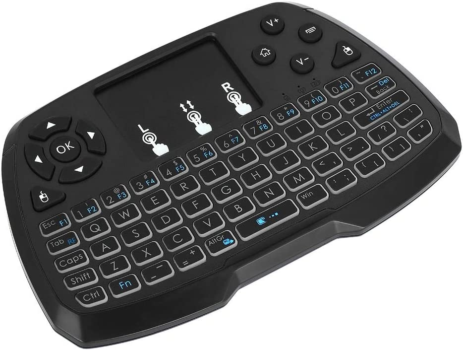 Calvas 2.4GHz Wireless Keyboard Touchpad C Remote Mouse Handheld Ranking TOP9 Inventory cleanup selling sale