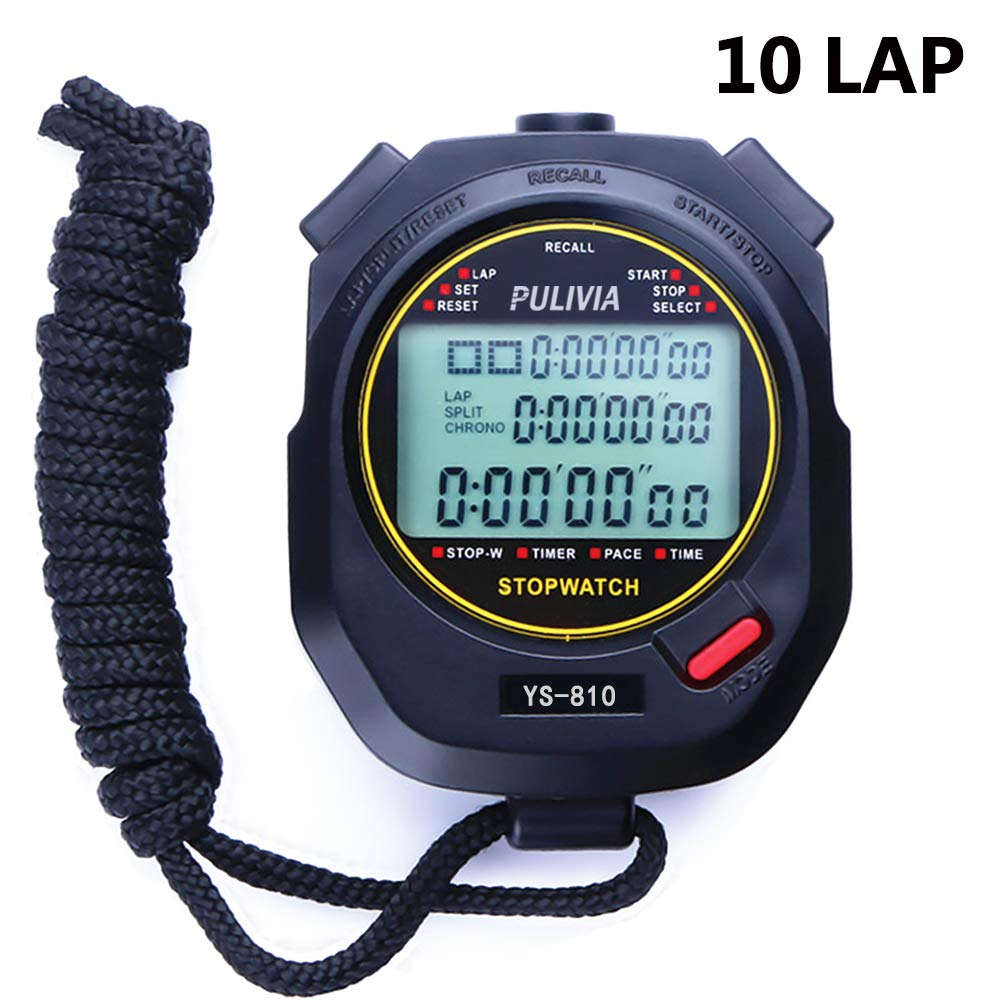 PULIVIA Stopwatch Countdown Calendar Resistant