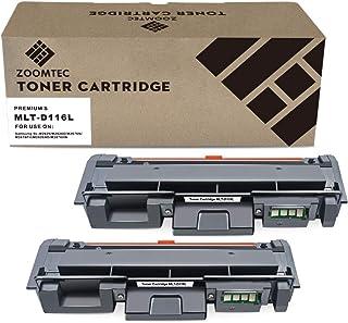 ZOOMTEC D116L MLT-D116L Cartucho de tóner Compatible para Samsung Xpress SL M2625 M2625D M2626 M2675 M2675F M2675FN M2676 M2825 M2825DW M2825ND M2826 M2835DW M2875 M2875FD M2875FW M2876 M2885FW