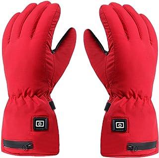 Cirdora Uppvärmda handskar elektriska handvärmare varma vinter-varma handskar batteriuppvärmda motorcykelhandskar pekskärm...