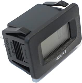 The ROP Shop Universal SENDEC Digital Hour Meter for Rotary 10408 fits AYP Husqvarna Mowers