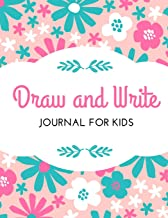 Draw and Write Journal: Blank Top Half of Page for Illustrations and Lined Bottom Half of Page for Writing - Creative Writing Notebook, Storybook, Short Story Authors