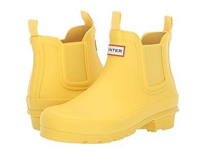 Hunter Kids Original Chelsea (Little Kid/Big Kid) (Lightening Yellow) Kids Shoes