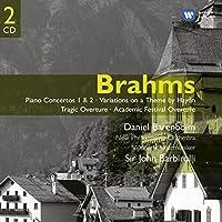Brahms: Piano Concertos Nos. 1 & 2 / Haydn Variations / Tragic Overture / Academic Festival Overture ~ Barenboim by J. BRAHMS (2007-04-10)