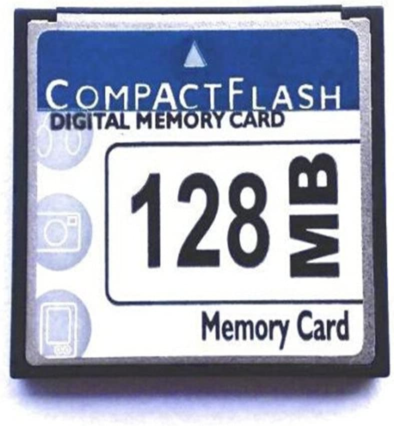 128MB CF (Compact Flash) Card SDCFB-128 or SDCFJ-128 (CAV) Compact Flash Memory Card