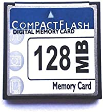Huadawei 128MB CF (Compact Flash) Card SDCFB-128 or SDCFJ-128 (CAV) Compact Flash Memory Card