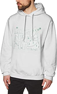 DGGE Let's Get Lit Men's Hoodies Sweatshirts Clothing and Sports