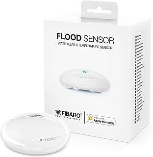Fibaro FGBHFS-101 Sensor de Fugas de Agua e Inundaciones, Blanco