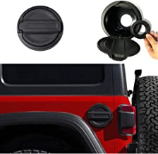 Micephon Gas Tank Cap Fuel Filler Door Cover for Jeep Wrangler JL JLU 2018+