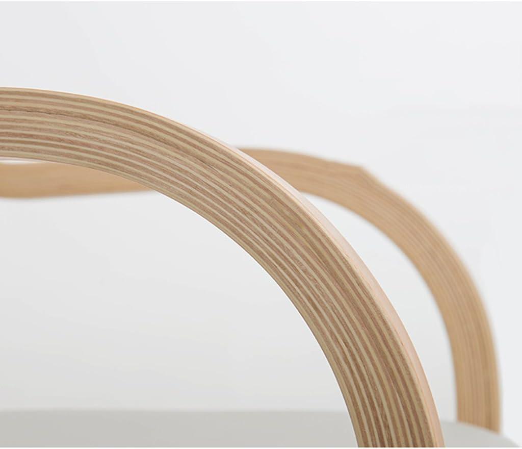 WDX- Chaise de salle à manger en bois massif Chaise de maison minimaliste moderne mode (Color : A) A