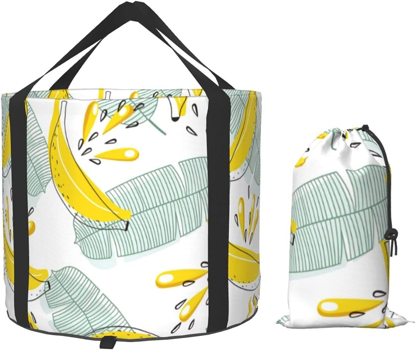 Fruit Banana Fort Worth Mall and Leaf Collapsible Cheap super special price Multifunctional Bucket Portabl