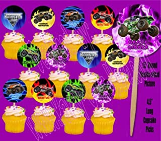Best monster truck cupcakes ideas Reviews