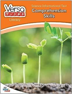 ETA hand2mind VersaTiles Literacy Workbooks - Grade 1 - Science Informational Text: Comprehension Skills