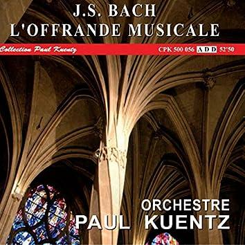 J.S. Bach : L'offrande musicale, Musikalishes Opfer BWV1079