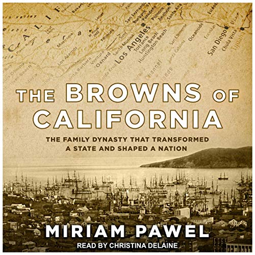 The Browns of California audiobook cover art