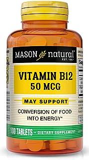 MASON NATURAL, B 12 50MCG