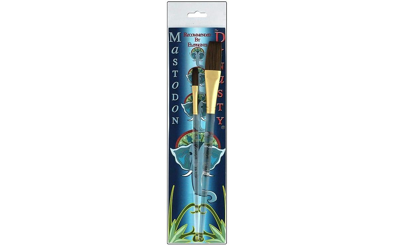 Dynasty EB Brush Set J Mastodon Flat Glaze 1/4,3/4,1 None