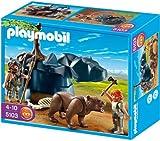 Playmobil grotbewoners met beer