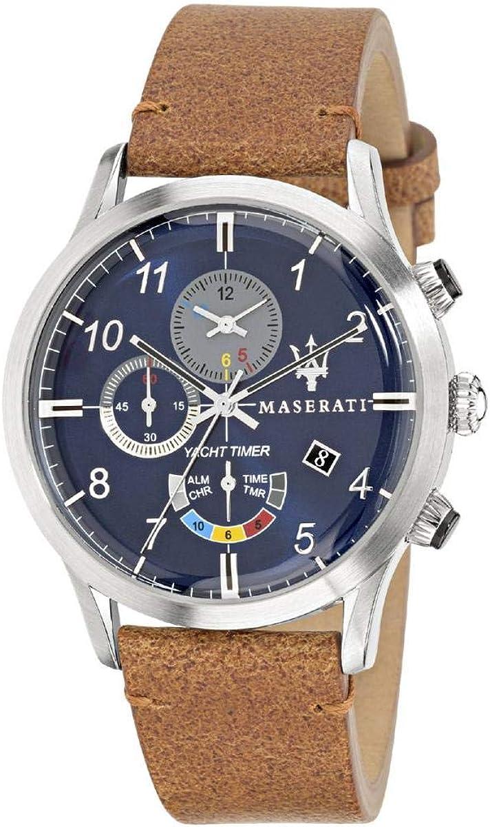 Reloj para Hombre, Colección RICORDO, en Acero, Cuero - R8871625005