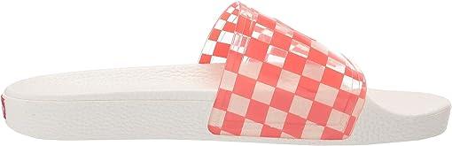 (Checkerboard) Deep Sea Coral/Marshmallow