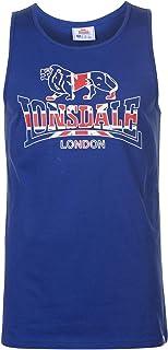 Lonsdale (ロンズデール) タンクトップメンズ トレーニング ウェア フィットネス アクティブ 筋トレ袖なしシャツメンズ LDN RCR Vest Men